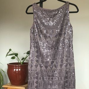 Suzi Chin for Maggy Boutique Sequin Tank Dress